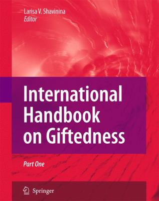 International Handbook on Giftedness   2009 9781402061615 Front Cover
