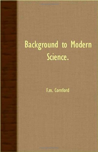 Background to Modern Science  2007 9781406753615 Front Cover