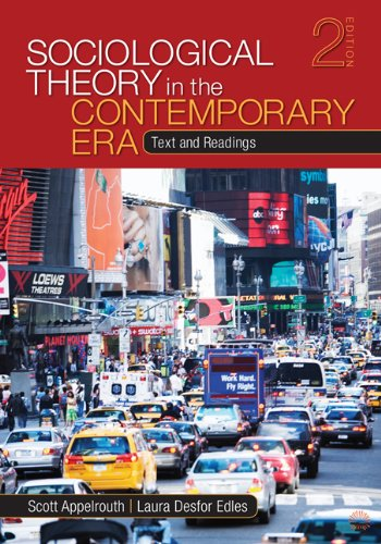 Sociological Theory in the Contemporary Era Text and Readings 2nd 2011 edition cover