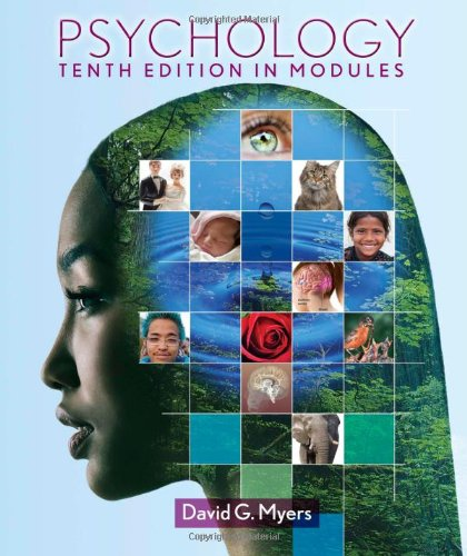 Psychology  10th 2013 (Revised) 9781464102615 Front Cover