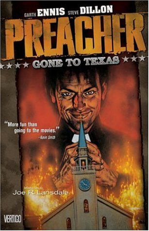 Preacher - Gone to Texas   1996 edition cover