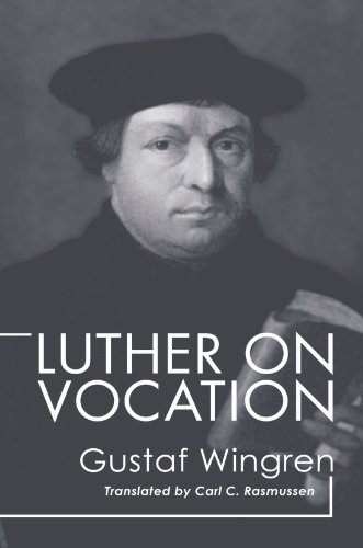 Luther on Vocation  N/A edition cover