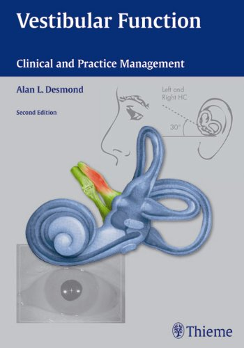 Vestibular Function Clinical and Practice Management 2nd 2011 edition cover