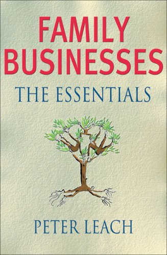 Family Businesses The Essentials  2007 edition cover