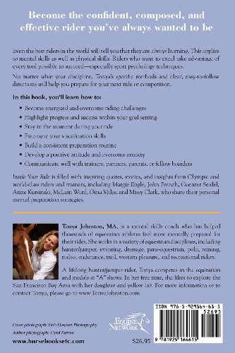 Inside Your Ride Mental Skills for Being Happy and Successful with Your Horse  2012 edition cover