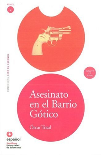 Asesinato en el Barrio G�tico (Libro + Cd)   2008 edition cover