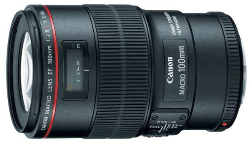Canon EF 100mm f2.8L Macro IS USM Lens product image