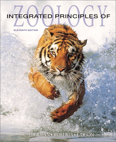 Integrated Principles of Zoology  11th 2001 edition cover