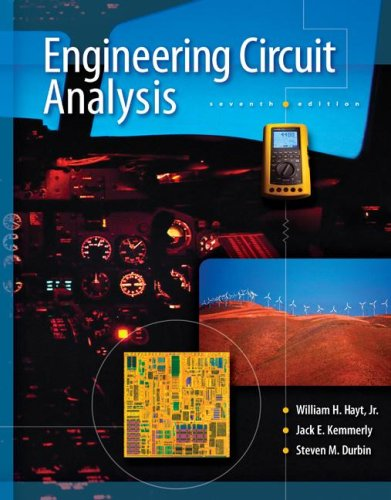 Engineering Circuit Analysis  7th 2007 edition cover