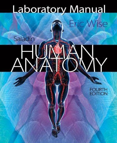 Saladin's Human Anatomy:   2013 edition cover