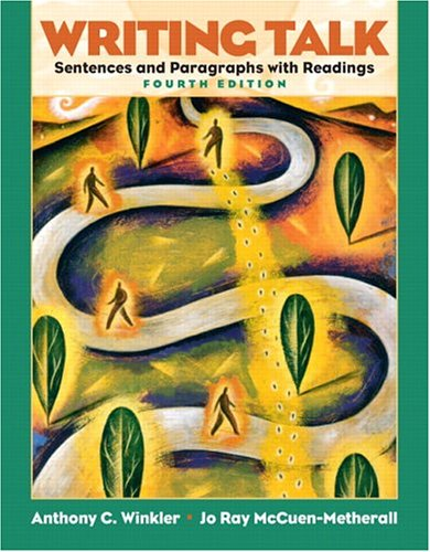 Writing Talk Sentences and Paragraphs with Readings 4th 2006 (Revised) 9780131523616 Front Cover
