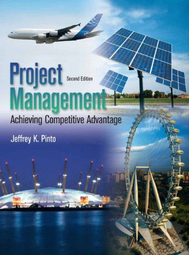 Project Management Achieving, Competitive Advantage 2nd 2010 edition cover