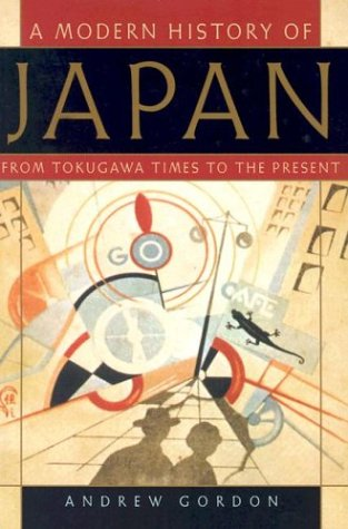 Modern History of Japan From Tokugawa Times to the Present  2003 edition cover