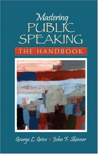 Mastering Public Speaking The Handbook  2008 edition cover