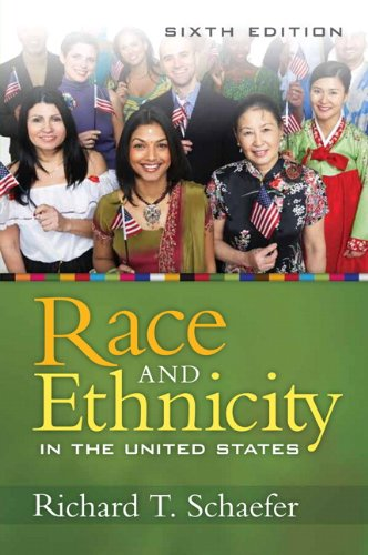 Race and Ethnicity in the United States  6th 2011 edition cover