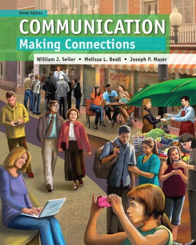Communication Making Connections 9th 2014 edition cover