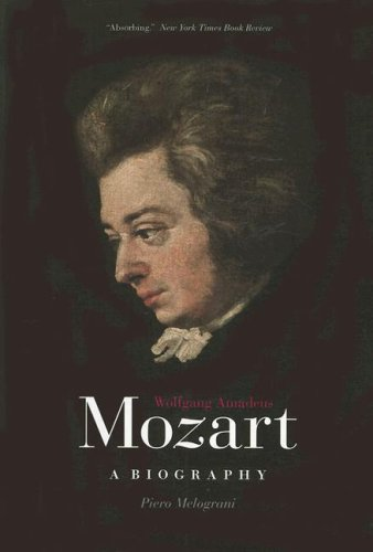 Wolfgang Amadeus Mozart A Biography  2008 edition cover