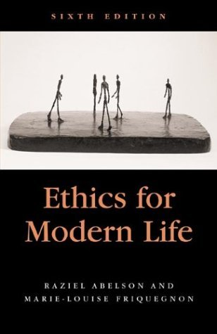Ethics for Modern Life  6th 2003 edition cover