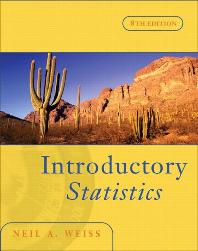 Introductory Statistics  8th 2008 (Revised) edition cover