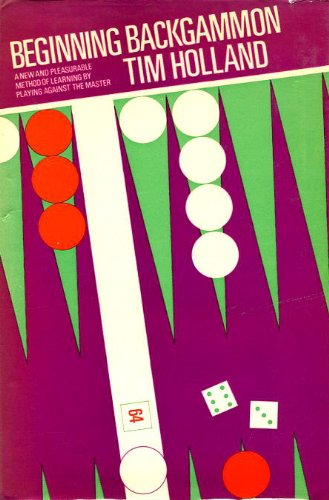 Beginning Backgammon   1974 edition cover