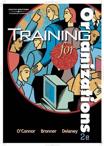 Training for Organizations 2nd 2002 edition cover