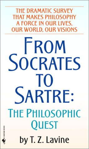 From Socrates to Sartre The Philosophic Quest  1984 edition cover