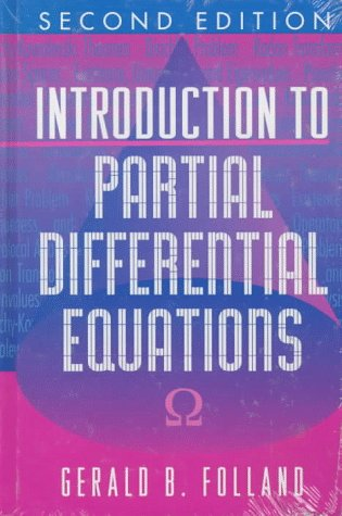 Introduction to Partial Differential Equations  2nd 1996 (Revised) edition cover
