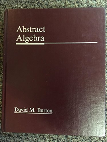 Abstract Algebra N/A edition cover