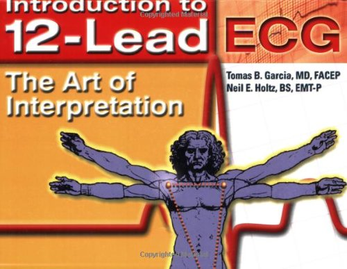 Introduction to 12-Lead ECG The Art of Interpretation  2003 edition cover