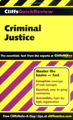 Criminal Justice   2000 edition cover