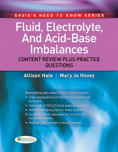 Fluid, Electrolyte, and Acid-Base Imbalances Content Review Plus Practice Questions 2nd 2012 edition cover