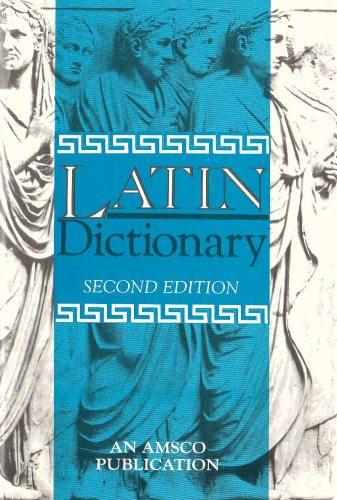 New College Latin and English Dictionary  2nd 1994 (Revised) edition cover