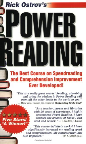 Power Reading : The Best, Fastest, Easiest, Most Effective Course on Speedreading and Comprehension Ever Developed! 3rd 2002 edition cover