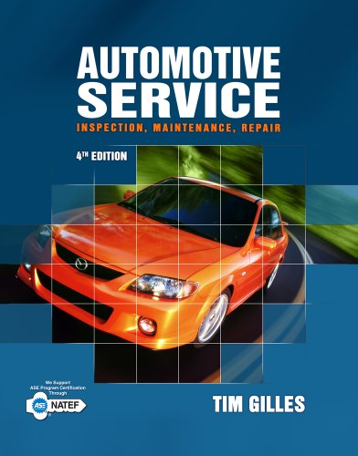 Automotive Service Inspection, Maintenance, Repair 4th 2012 edition cover