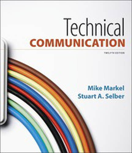 Technical Communication:   2017 9781319058616 Front Cover