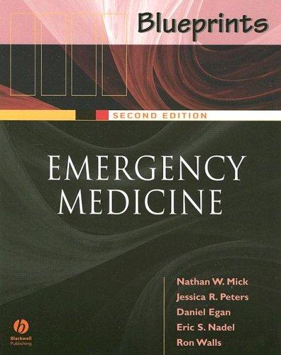 Blueprints Emergency Medicine  2nd 2005 (Revised) edition cover