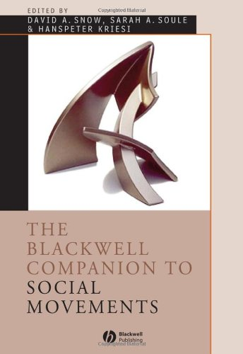 Blackwell Companion to Social Movements   2007 edition cover