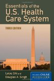 Essentials of the U. S. Health Care System  3rd 2013 edition cover