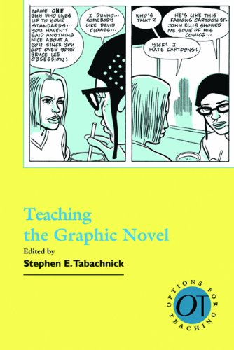 Teaching the Graphic Novel   2009 edition cover