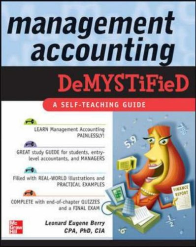 Management Accounting Demystified   2006 9780071459617 Front Cover