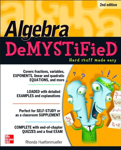Algebra - DeMYSTiFieD  2nd 2011 (Revised) edition cover