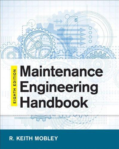 Maintenance Engineering Handbook  8th 2014 edition cover