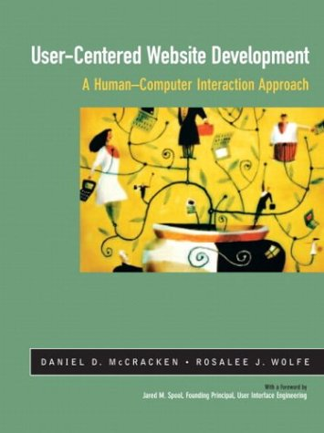 User-Centered Web Site Development A Human-Computer Interaction Approach  2004 edition cover