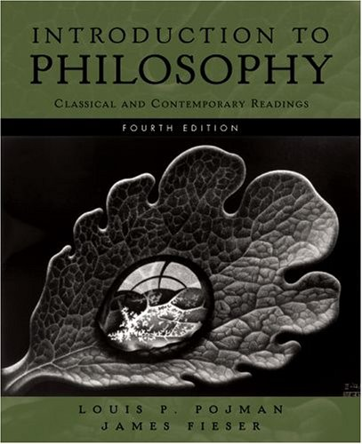 Introduction to Philosophy Classical and Contemporary Readings 4th 2008 edition cover