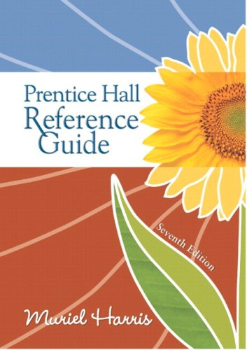 Prentice Hall Reference Guide, MLA Update Edition  7th 2009 edition cover