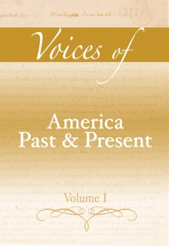 Voices of America Past and Present   2007 edition cover