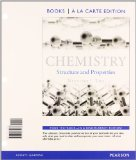 Chemistry Structures and Properties, Books a la Carte Plus MasteringChemistry with EText -- Access Card Package  2015 edition cover