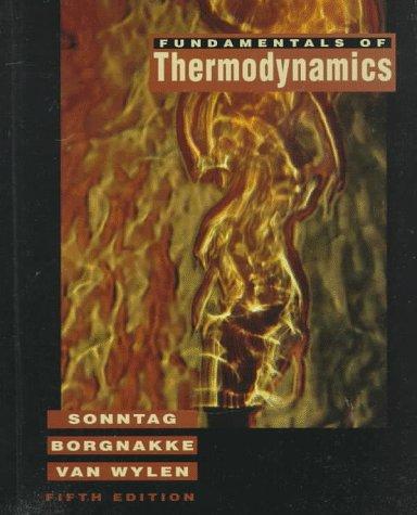 Fundamental of Thermodynamics  5th 1998 edition cover