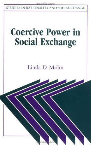 Coercive Power in Social Exchange   1997 edition cover