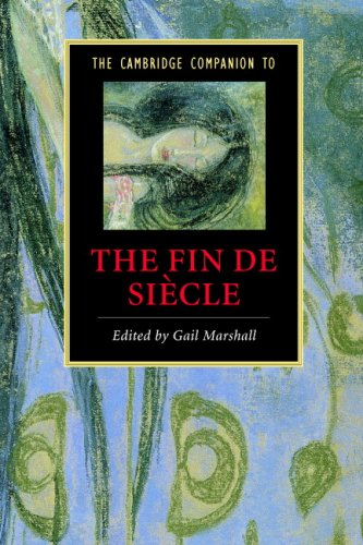 Cambridge Companion to the Fin de Si�cle   2007 9780521615617 Front Cover